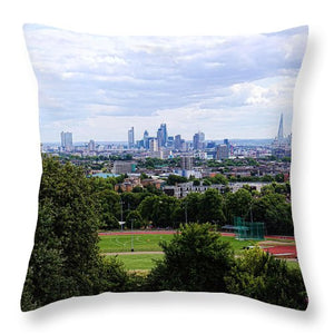 London From Parliament Hill - Throw Pillow
