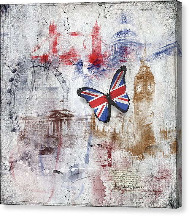 London Iconic - Canvas Print