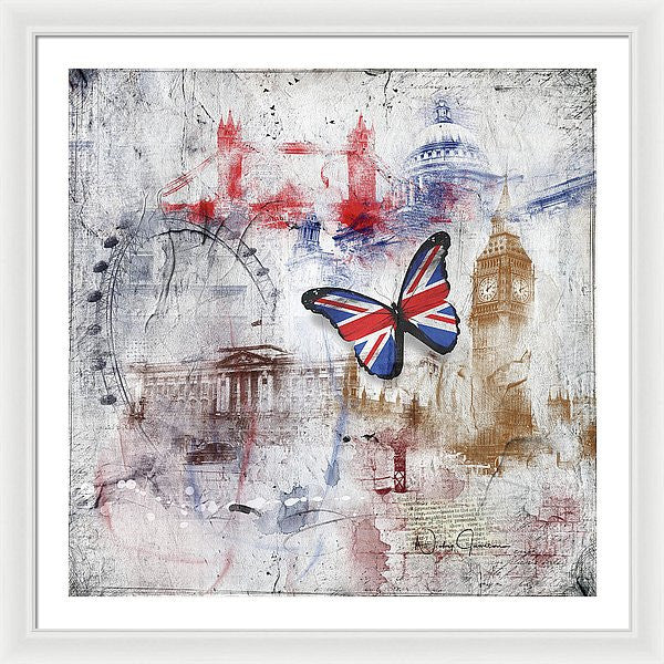 London Iconic - Framed Print