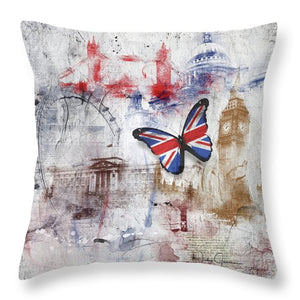 London Iconic - Throw Pillow