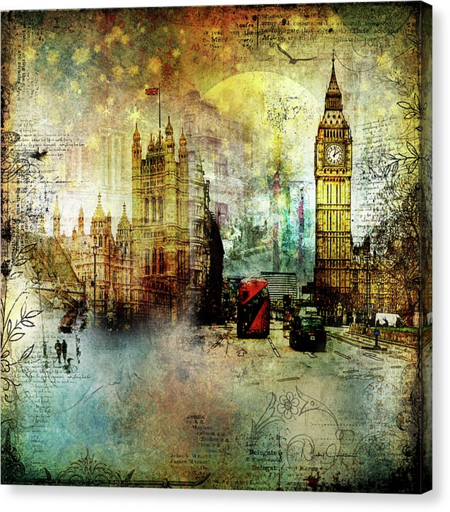 London Lights - Canvas Print
