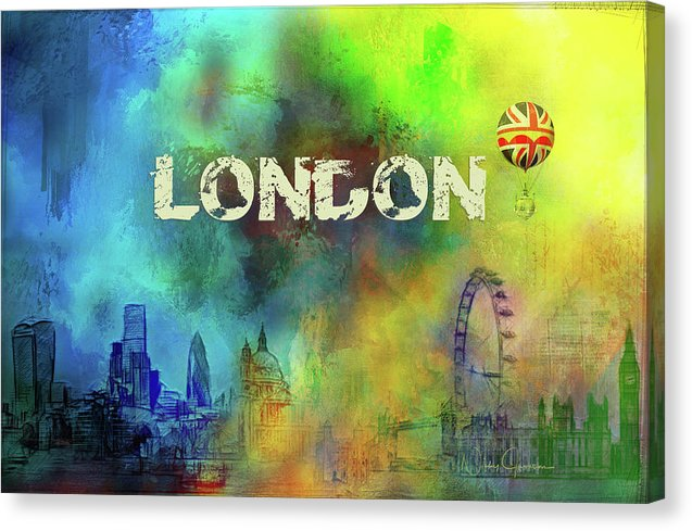 London  Skyline - Canvas Print