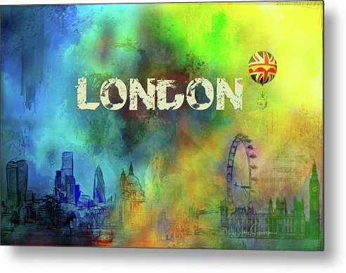 London Skyline - Metal Print