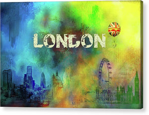 London Skyline Acrylic