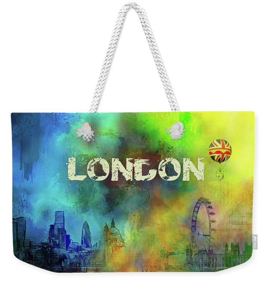 London Skyline Weekender tote