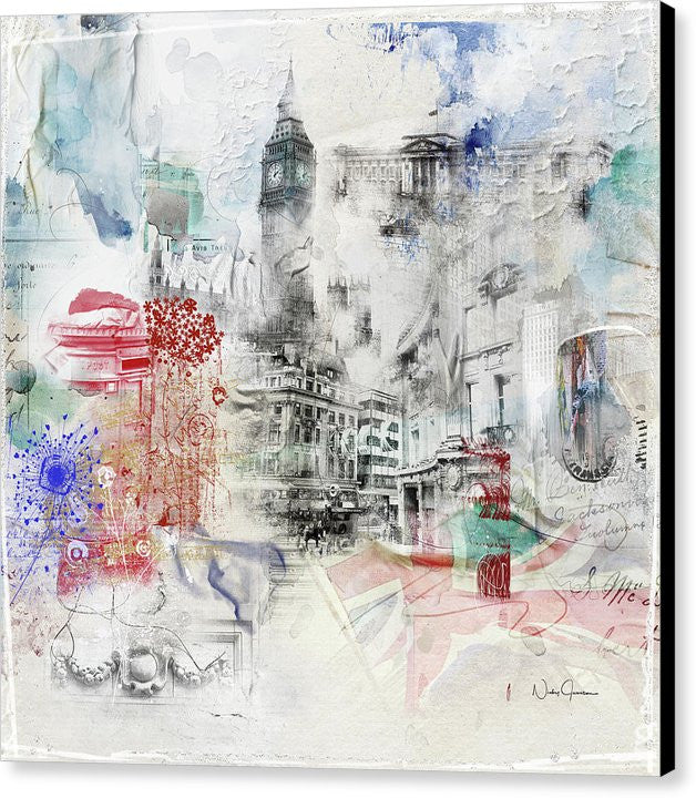 London Study - Canvas Print
