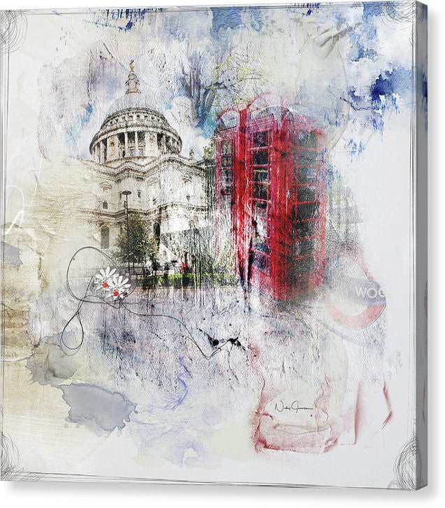 London's Ephemera - Canvas Print