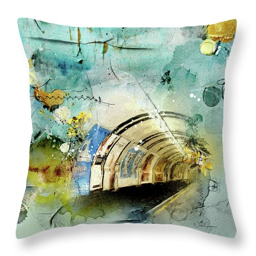 Looking For the Light - Throw Pillow