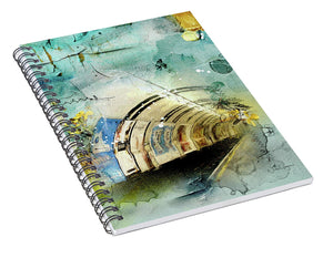 Looking For the Light - Spiral Notebook