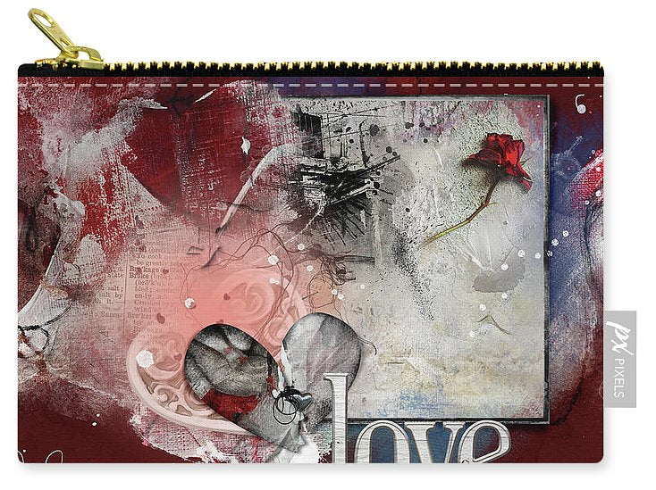 Love Story - Carry-All Pouch