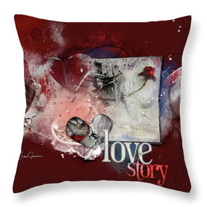 Love Story - Throw Pillow