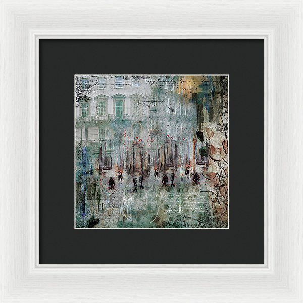 Morning Dance - Framed Print