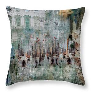 Morning Dance - Throw Pillow