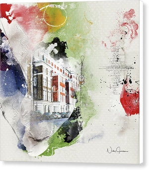 Notting Hill - Canvas Print