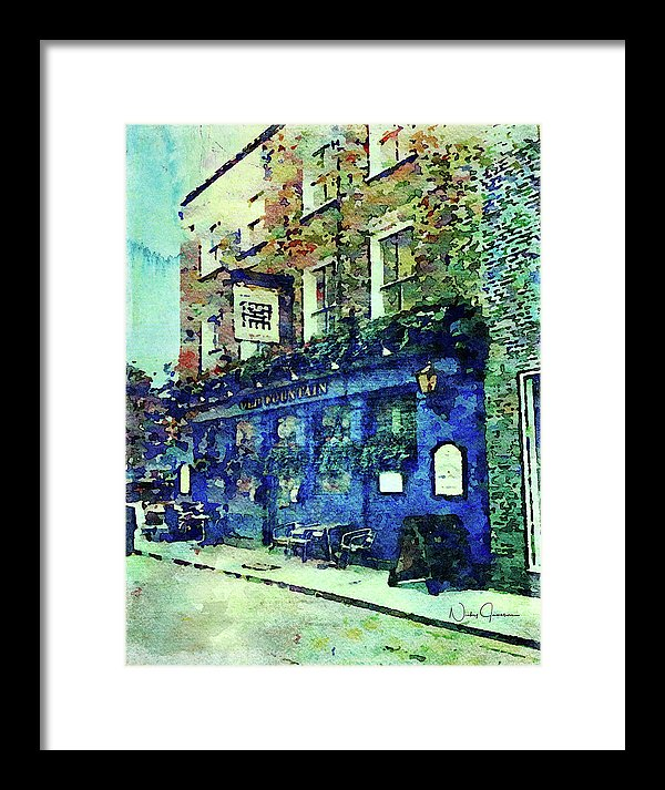 Old Fountain Pub - Framed Print