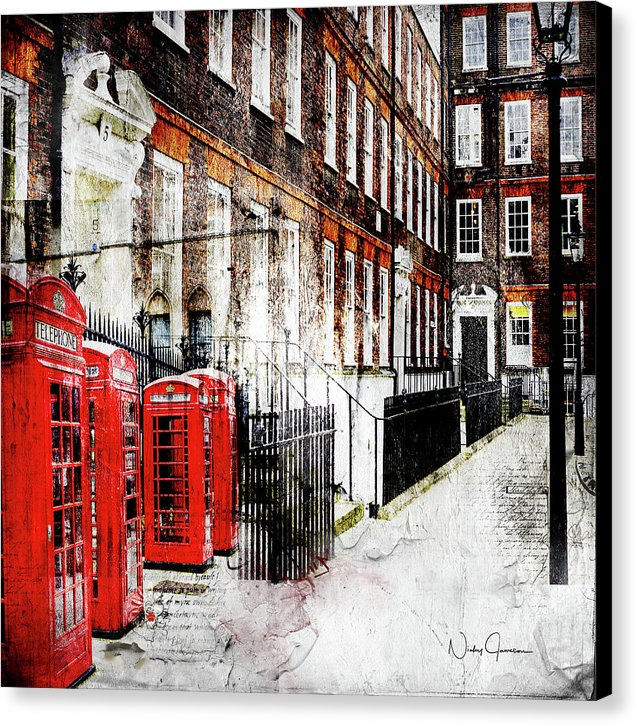 Old Square, London, Wall art, canvas print