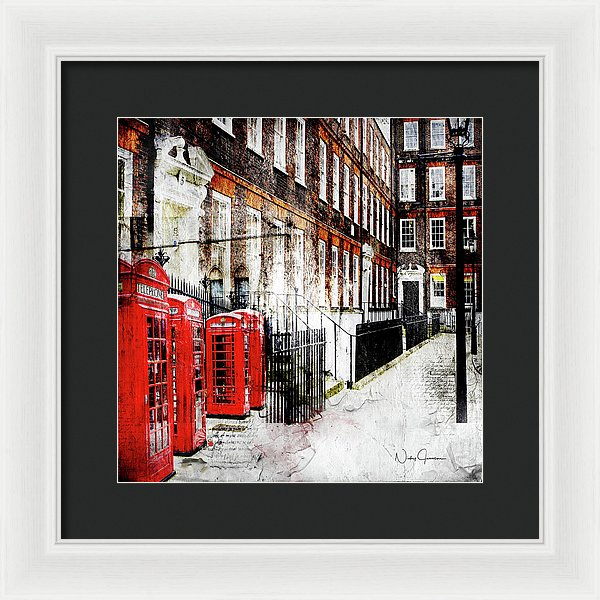 Old Square, London wall art framed prints