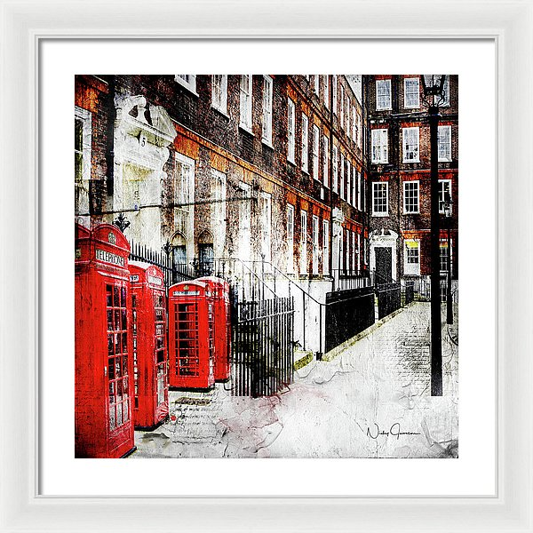 Old Square - Framed Print