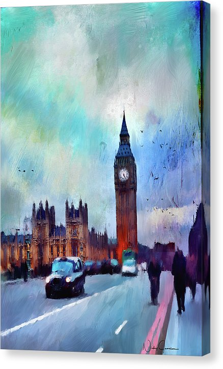 On Westminster Bridge - Canvas Print