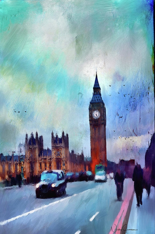 On Westminster Bridge - Art Print