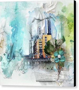 Oxo Tower Wharf - Canvas Print