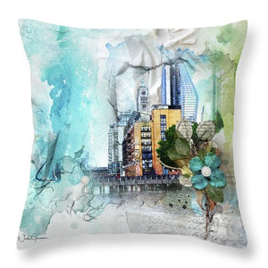 Oxo Tower Wharf - Throw Pillow