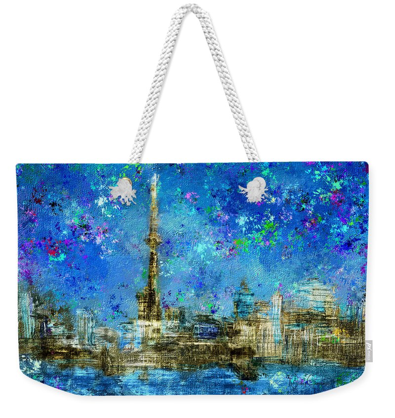 Painted City - Toronto Skyline - Weekender Tote Bag