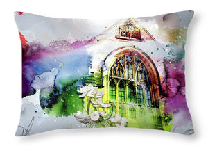 Peace and Love - Throw Pillow