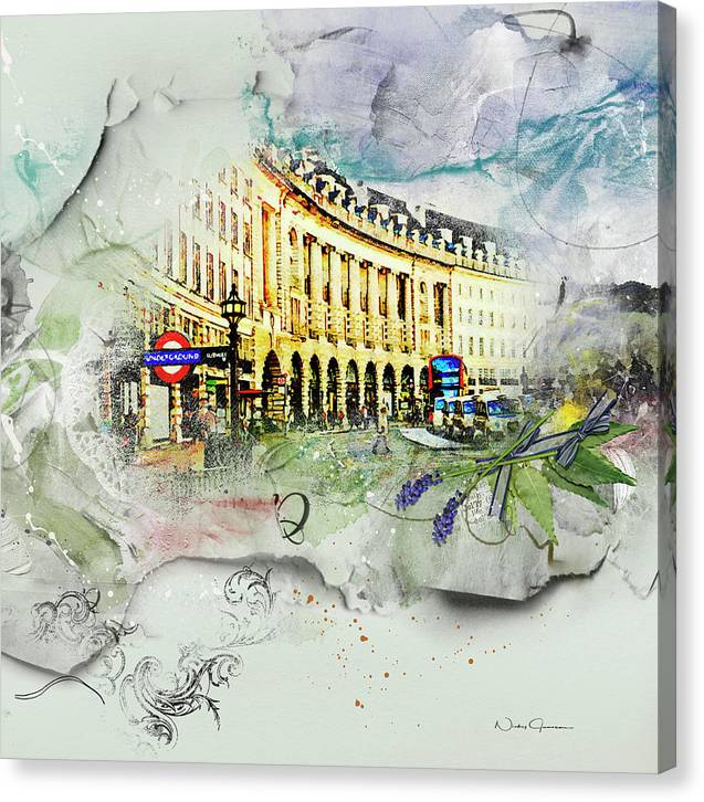 Piccadilly Circus - Canvas Print
