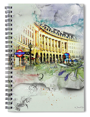 Piccadilly Circus - Spiral Notebook