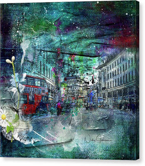 Piccadilly Life - Canvas Print