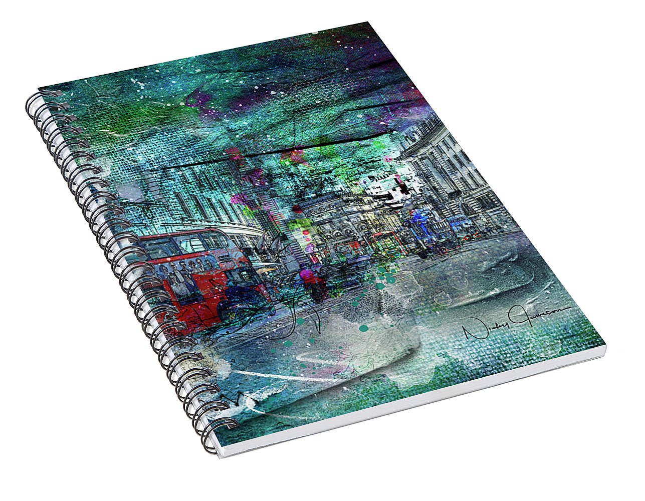 Piccadilly Life - Spiral Notebook