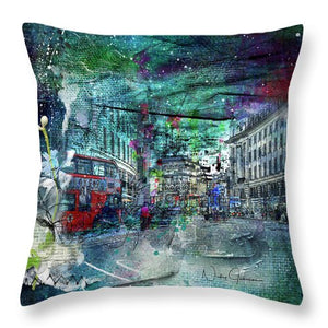 Piccadilly Life - Throw Pillow