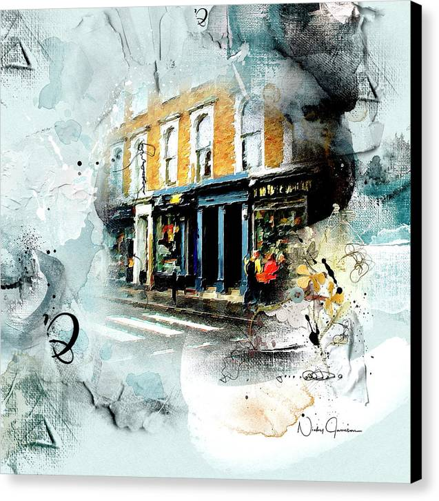Portobello Rd - Canvas Print