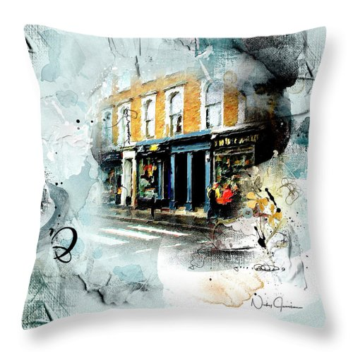 Portobello Rd - Throw Pillow