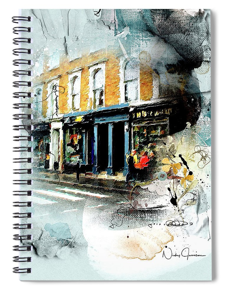 Portobello Rd - Spiral Notebook