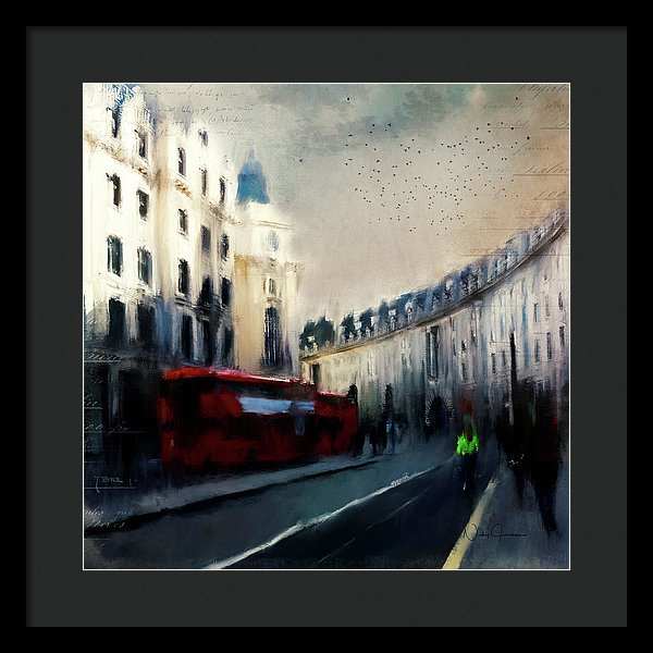 London Regent Street - Framed Print