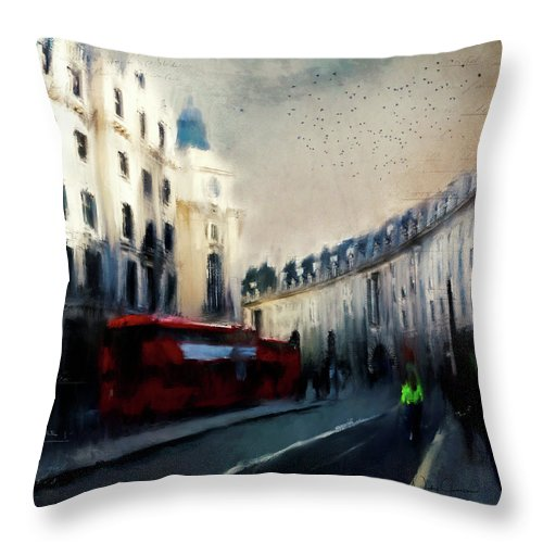 Regent Street - Throw Pillow