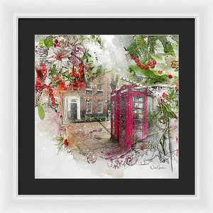 Richmond Green in the Snow - Framed Print
