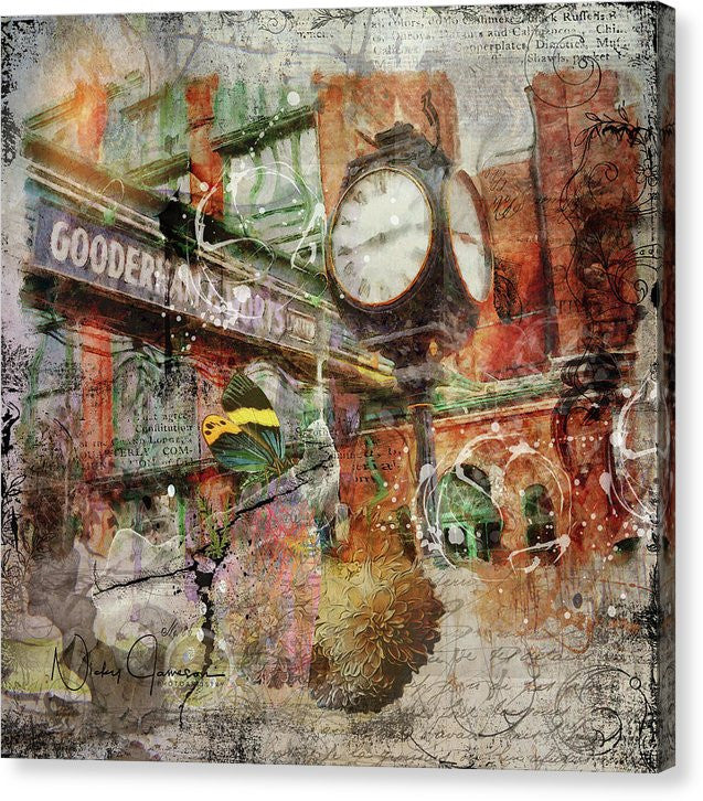 Riot Of Colour Distillery District - Canvas Print