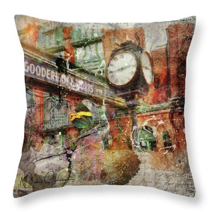 Riot of Colour Distillery District - pillow