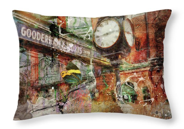 Riot Of Colour Distillery District - Throw Pillow