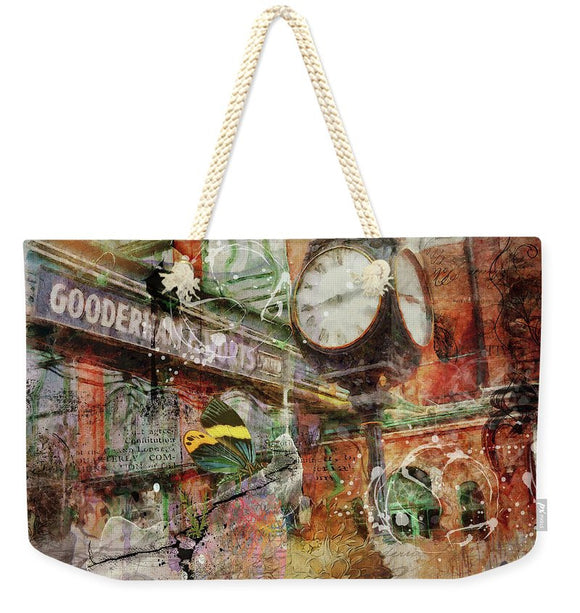 Riot of Colour Distillery District - weekender tote bag