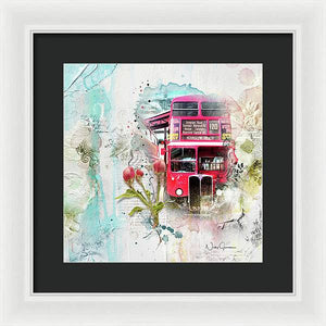 Routemaster - Old is New - Framed Print