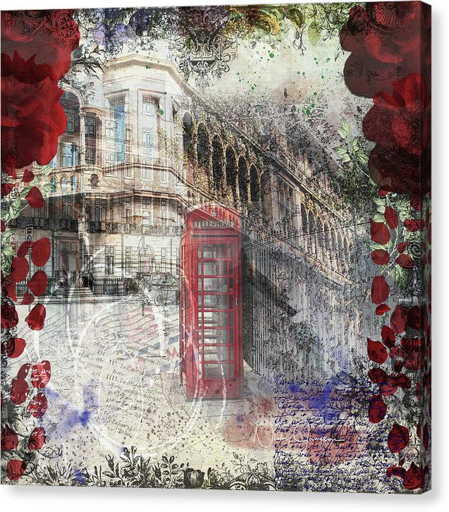 Russell Square - Canvas Print