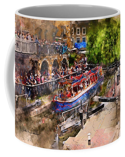 Saturday Afternoon At Camden Lock - Mug