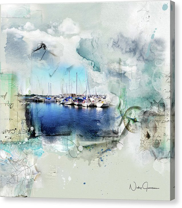 set your sail - toronto waterfront art by nicky jameson