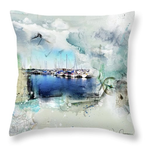 Set Your Sail - Throw Pillow
