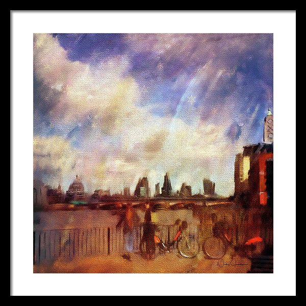 South Bank - Framed Print