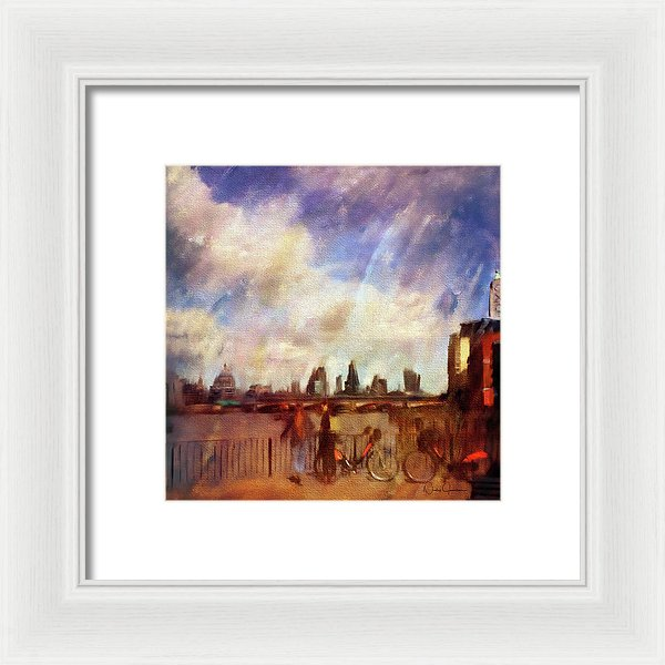 london skyline art nicky jameson art